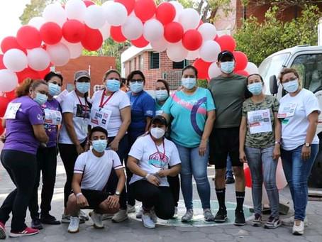 Fe y Alegría El Salvador participó en la carrera solidaria #10porlaEducación de Entreculturas.