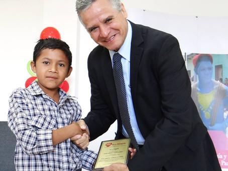 Reconocimiento Padre Joaquín López 2017