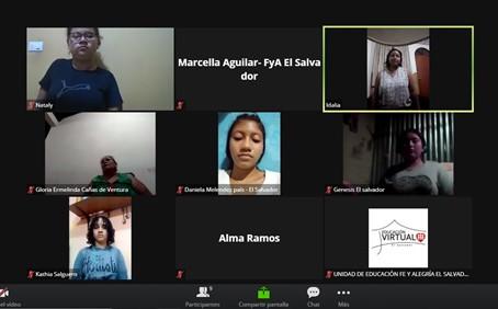 Fe y Alegría lanza talleres dirigidos a niñas en el marco de su campaña ¡La Luz de las niñas!