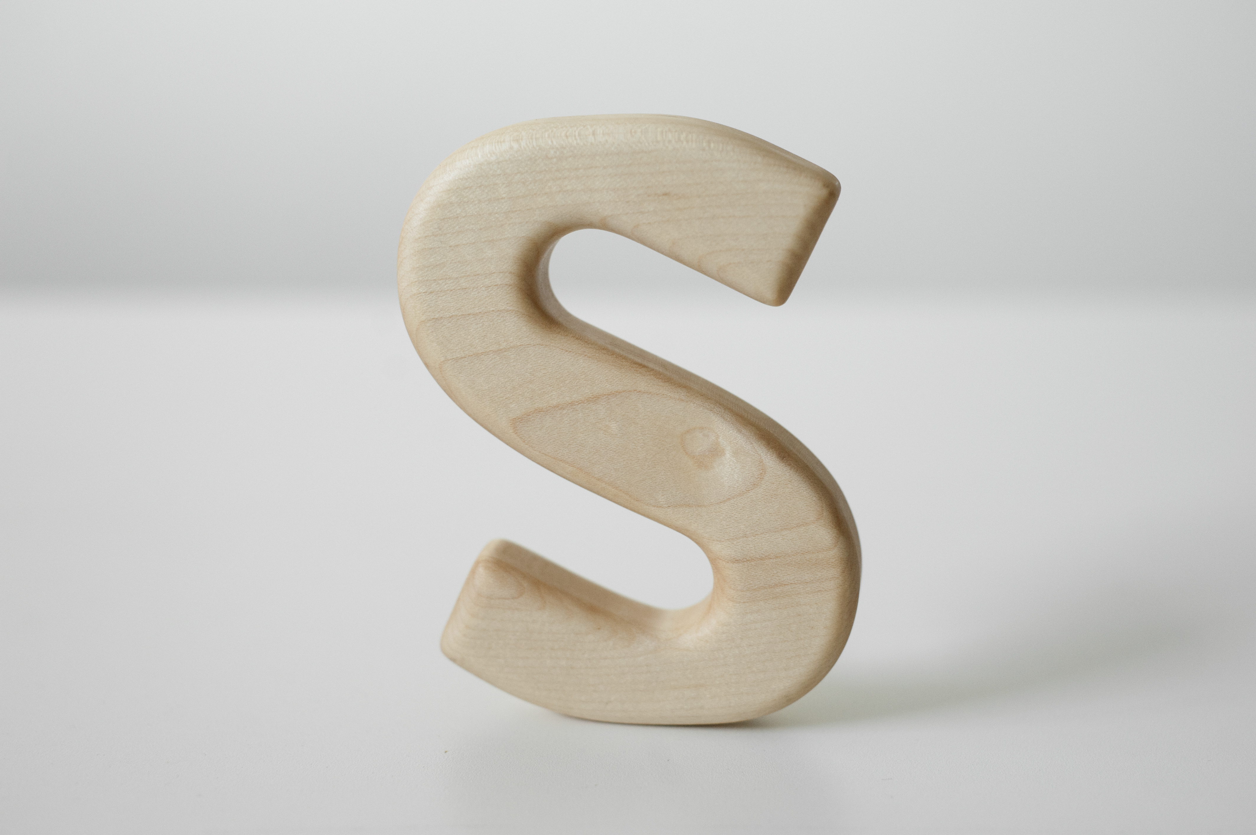 Letter S Teether