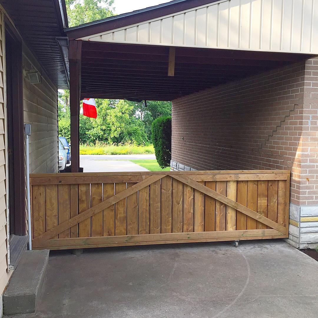 Carport Gate 1