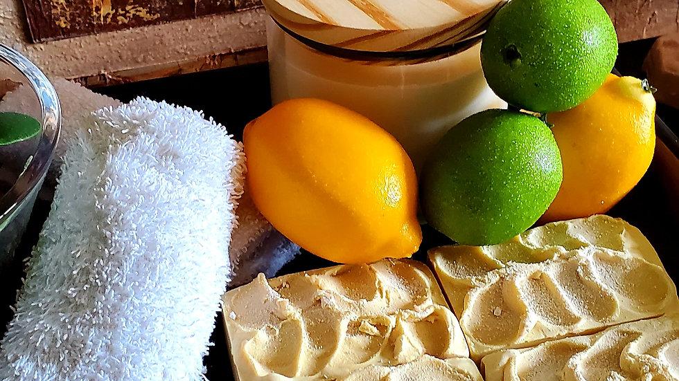 Luscious Lemon Bar Soap