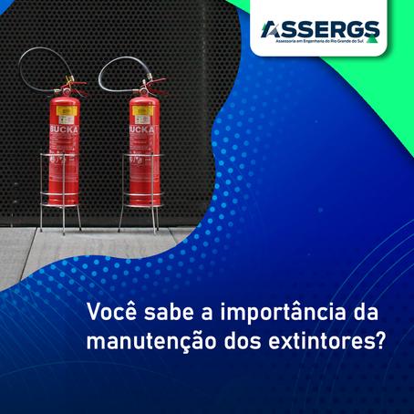 Você sabe a importância da manutenção dos extintores?