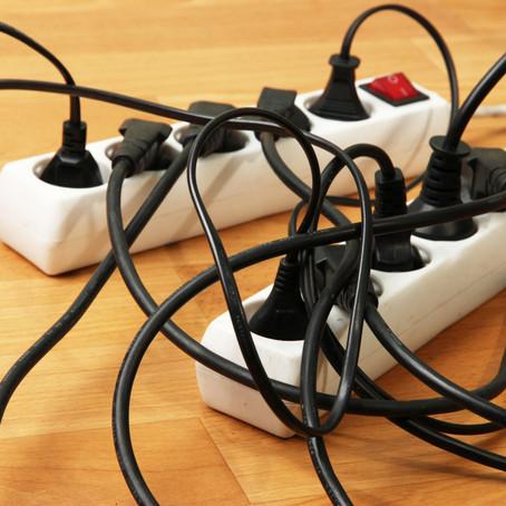 Dica Assergs: sobrecarga elétrica