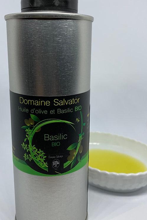 バジリック(バジル)香味エクストラヴァージンオリーブオイル