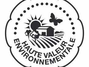 ドメーヌ サルヴァトール社様 フランス🇫🇷にて、高環境価値農業者に認定されました