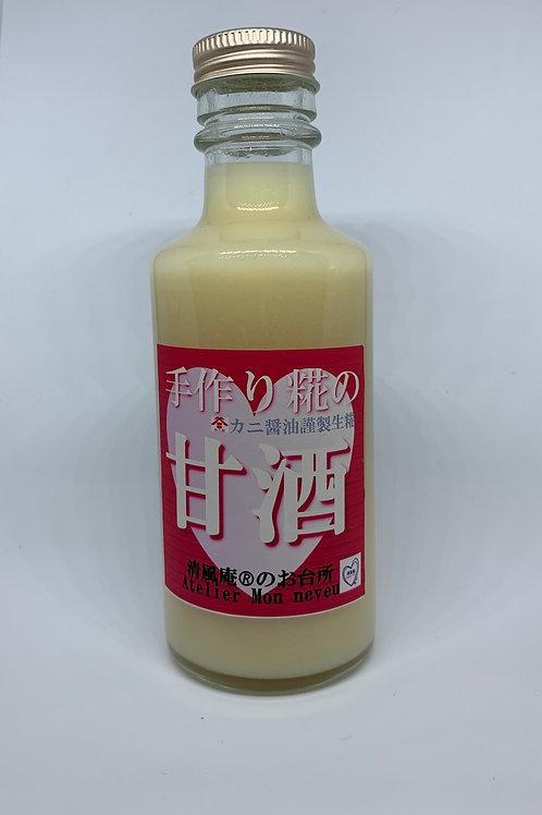 手作り糀の甘酒 (ノーアルコール)180ml [清風庵®︎のお台所]