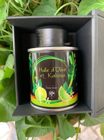 ギフト ミニサイズ 緑爽熟®大分県産かぼす香味エクストラヴァージンオリーブオイル