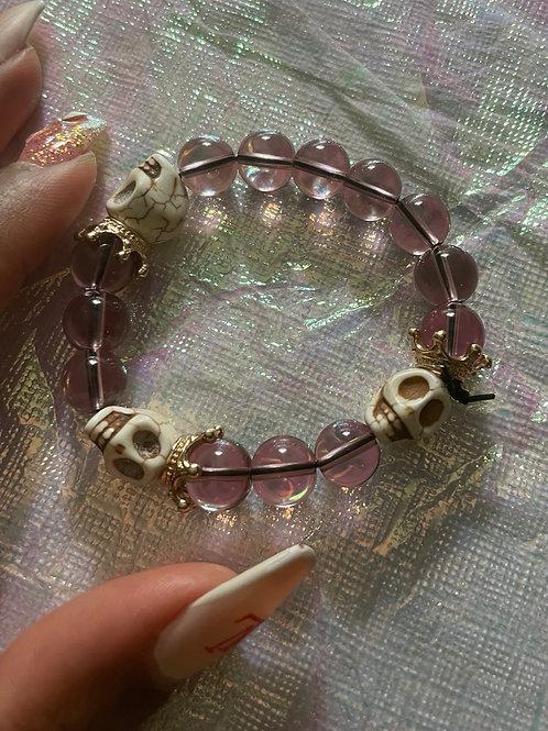 Pink Ice Queen Bracelet