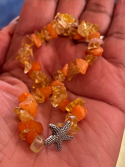 Sunkiss Starfish Anklet