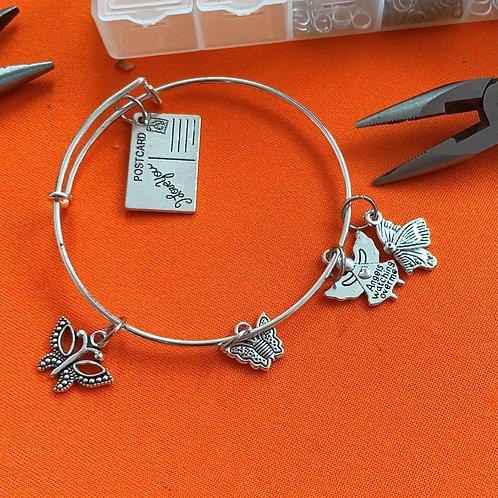 Butterfly Infinity Bracelet