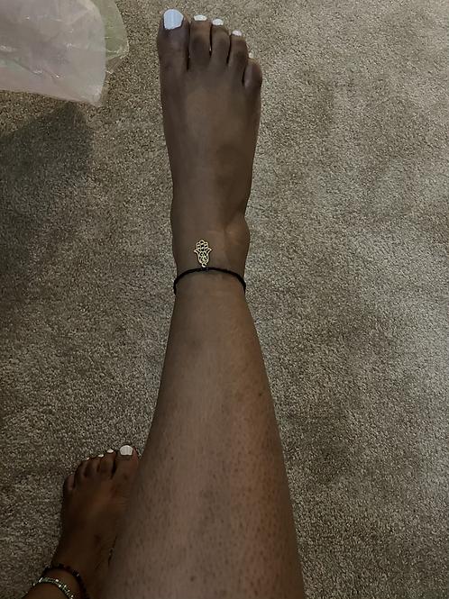 Talk To The Hamsa Anklet