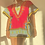 Thumbnail: Dashiki Mini Dress Magenta (2X)