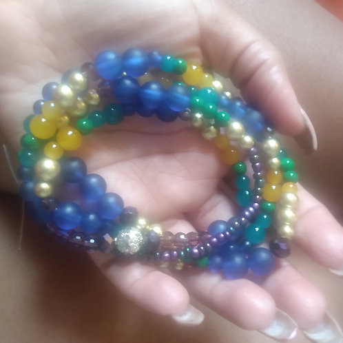 It's the Peacock For Me Waistbeads
