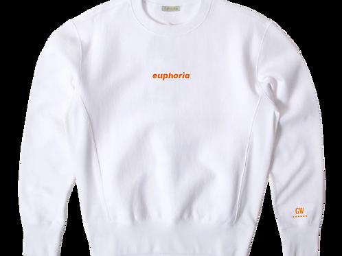 GW Collection - 6 Stars White Sweatshirt