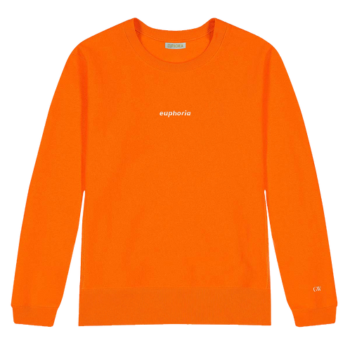 Orange GW x Meningitis Now Sweatshirt