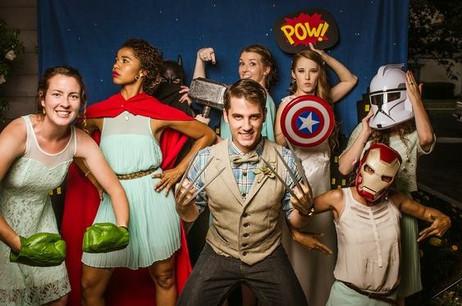 Superhero Theme Props