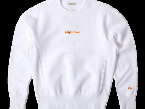 White GW x Meningitis Now Sweatshirt