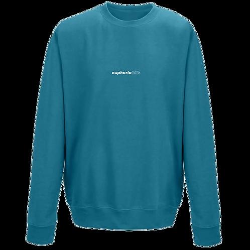 Euphoria Hills Printed Jade Sweatshirt