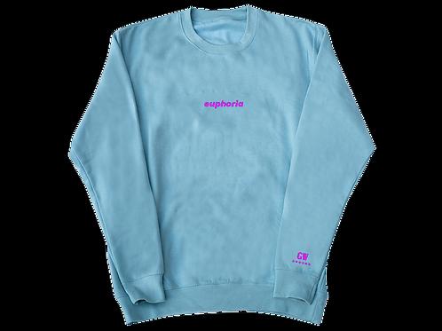 GW Collection - 6 Stars Blue & Pink Sweatshirt