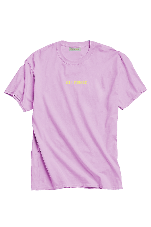 Self Induced Tee - Blush Pink