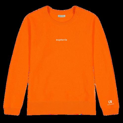 GW Collection - Orange 6 Stars Sweatshirt