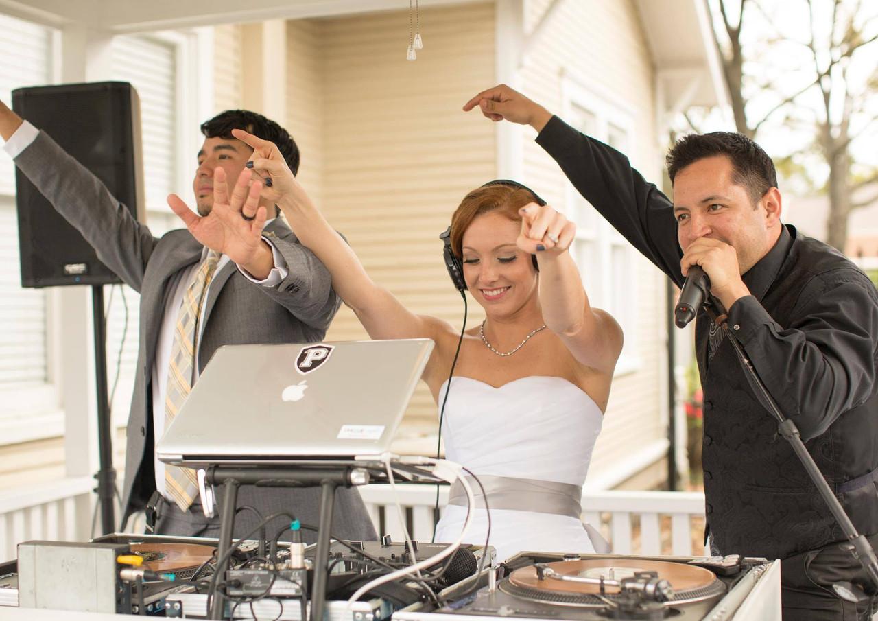 DJ Bride!