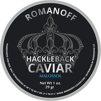 Hackleback Caviar, WILD, USA