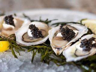Oysters & #BlackCaviar #CakeOfPower #Beluga