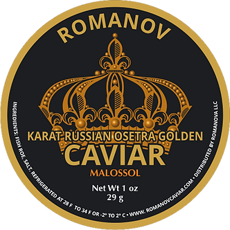 Karat Russian Osetra Golden