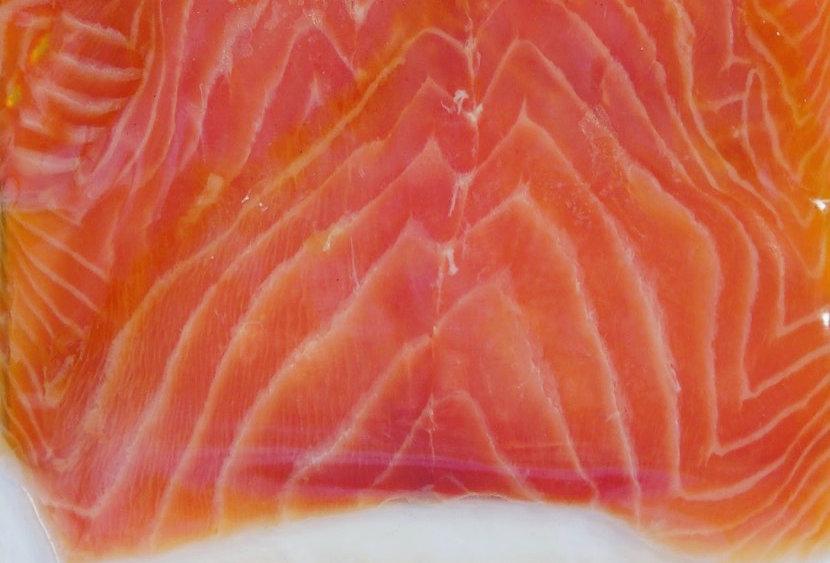 Salmon WILD cold smoked SLICED 8 oz