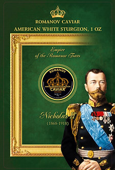 Nicolas American White Sturgeon 1 oz