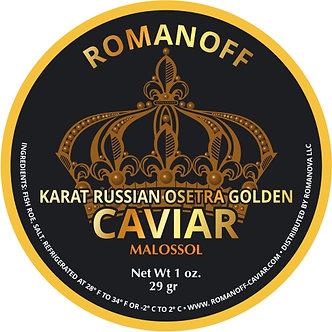 Karat Russian Osetra Golden, Israel