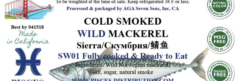 Mackerel WILD cold smoked