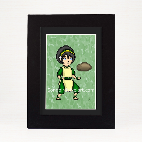 Avatar The Last Airbender- Toph Print