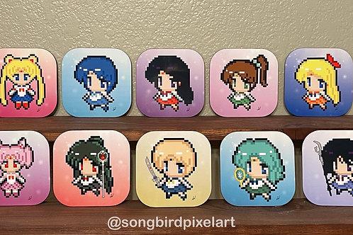 Sailor Guardian Coasters