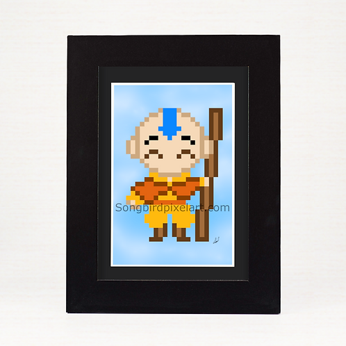 4x6 Aang from Avatar The Last Airbender