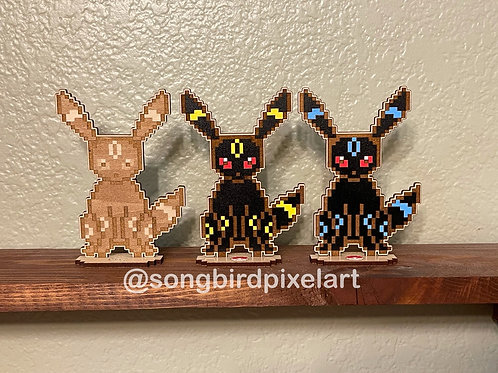 Umbreon Wood Standees