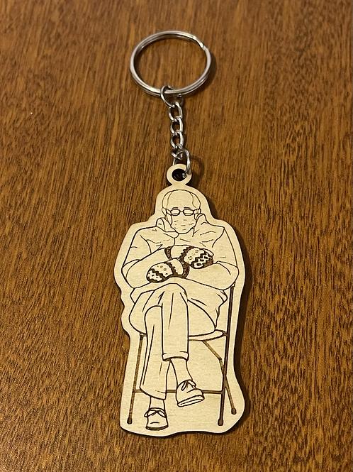 Bernie Wood Keychain