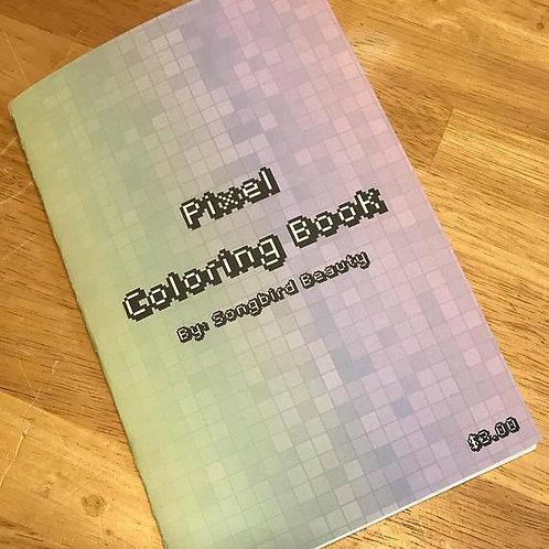 Mini Pixel Coloring Book