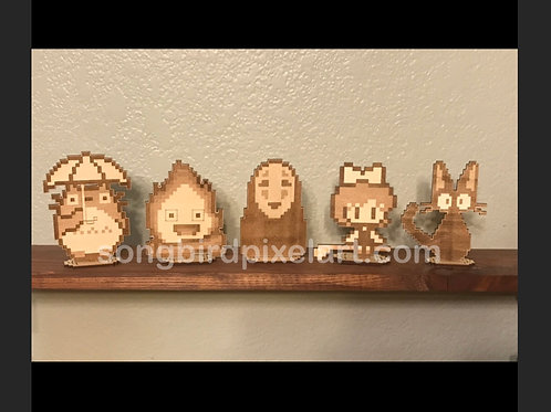 Studio Ghibli Wood Standees