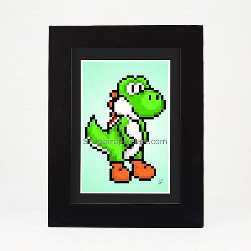 4x6 Yoshi Print
