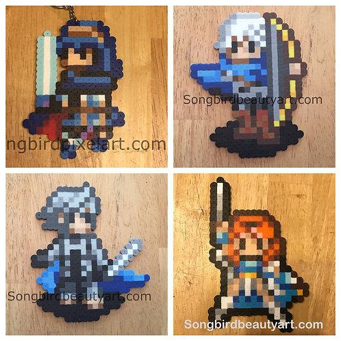 Fire Emblem: Lucina, Niles, Corrin, Celica