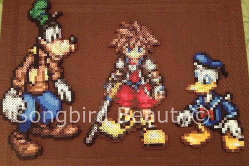 Kingdom Hearts: Goofy, Sora, Donald