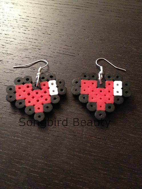 Zelda Heart Earrings