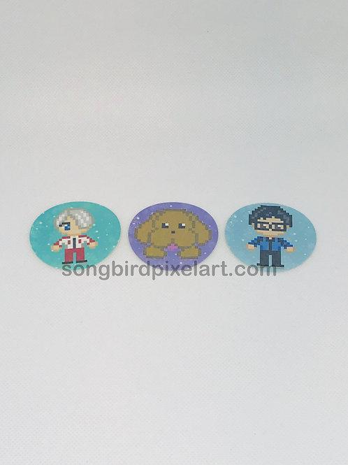 Yuri on Ice Stickers