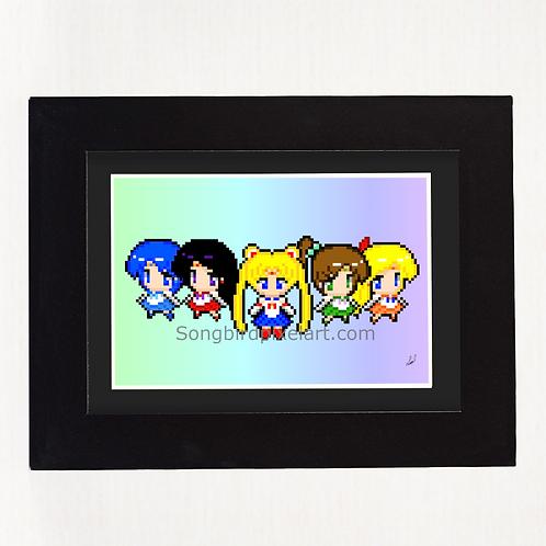 4 x 6 Inner Senshi Print