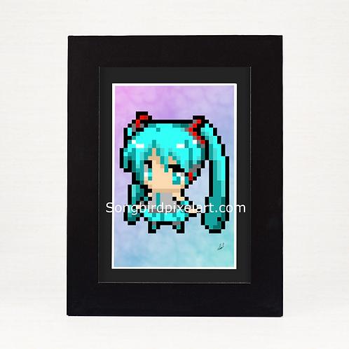 4x6 Hatsune Miku Print