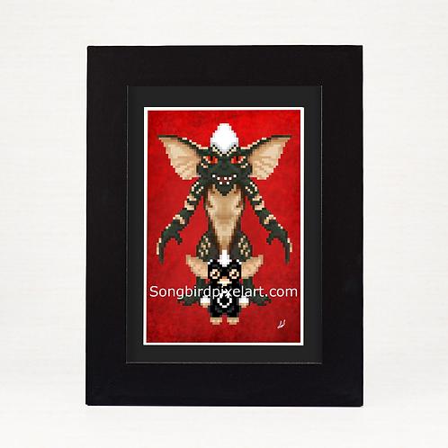 4x6 Stripe Print- Gremlins
