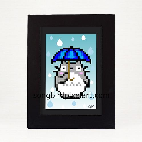 4x6 Totoro Print